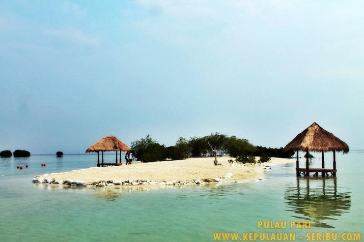 Pulau Pari Pantai Yang Indah Yang Di Kenal Dengan Pantai Pasir Perawan