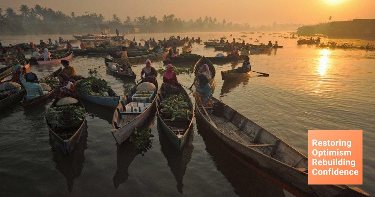 Inilah 7 Pasar Apung Di Indonesia Sudah Tahu