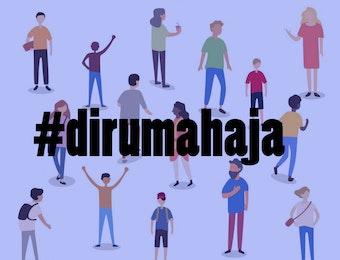 #Dirumahaja Kontribusi Kita Bersama Negara Lawan Corona