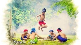 Rangku Alu, Permainan dan Tarian Tradisional