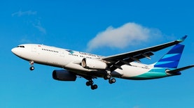 Garuda Indonesia Naik Tinggi Melebarkan Sayapnya