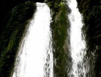 """Pesona Air Terjun """"Tujuah Tingkek Batirai"""" Sumatera Barat"""