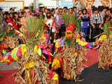 Pesona Karnaval 1000 Topeng Tuping Lampung