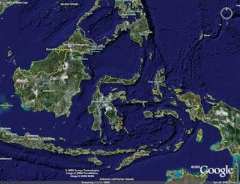 Inilah Perbedaan Peta Lama dengan Peta Baru Indonesia