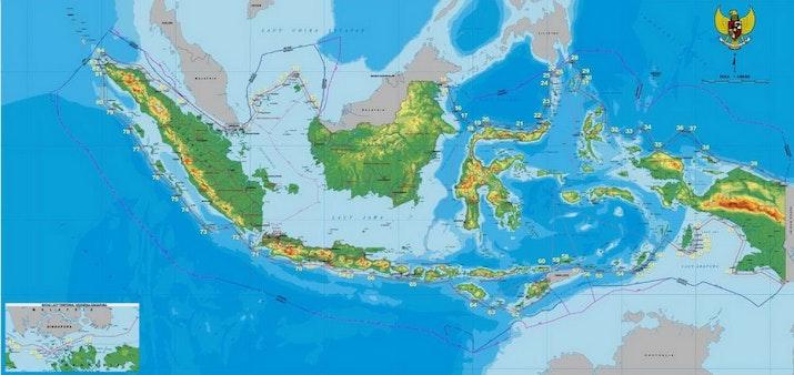 Peta Indonesia Diperbarui, Begini Perbedaannya dengan Peta Lama