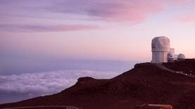 Dari Titik di Gunung Timau ini, Tata Surya Bisa Dilihat Dari Segala Penjuru