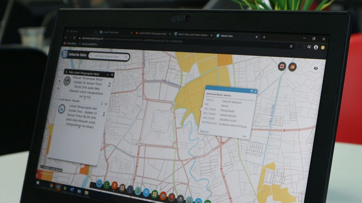 Dengan Portal Ini, Banjir Jakarta Bisa Dipantau