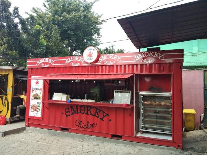 Smokey Chicken, Inovasi Baru dari Baba Rafi