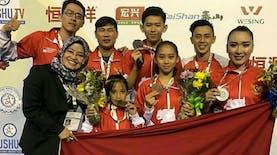 Atlet Wushu Indonesia Raih Medali di Brasil