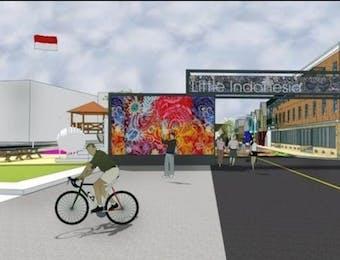 Pertama di Dunia, Akan Ada Distrik Little Indonesia di Amerika Serikat