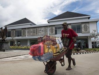 Transaksi Pasar Skouw Jayapura, Capai Rp3 Miliar Saban Hari