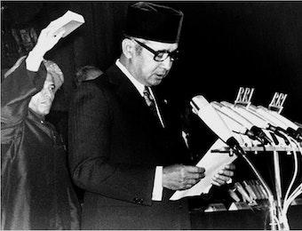 Mengenang Pidato Kenegaraan Setengah Abad Kemerdekaan Indonesia oleh Presiden Soeharto