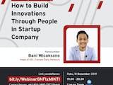 Gambar sampul Startup: Tentang Gambaran Kerja dan Menumbuhkan Inovasi
