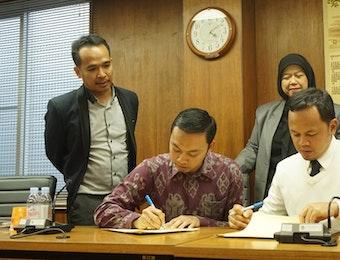 PPI Jepang Tanda Tangani Kesepakatan Dengan Pemerintah Kota Bogor