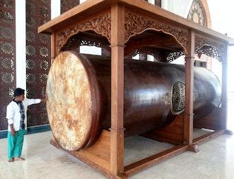 Bedug, Simbol Akulturasi Antara Budaya China Dan Islam