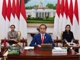 Gambar sampul Presiden Jokowi Ikuti KTT G20 Secara Virtual, Bahas Penanganan Corona