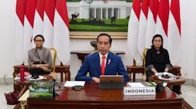 Presiden Jokowi Ikuti KTT G20 Secara Virtual, Bahas Penanganan Corona