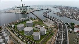 Perlu waktu 4 tahun, pelabuhan atas laut ini selesai juga