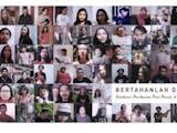 Puluhan Seniman Indonesia Beri Optimisme Lewat Pembacaan Puisi
