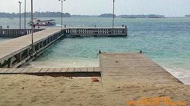 Pulau Genteng Kecil Wisata Pulau Seribu