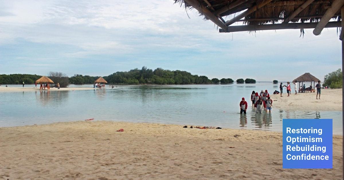 Pulau Pari Wisata Pasir Putih Pantai Perawan Pulau Seribu