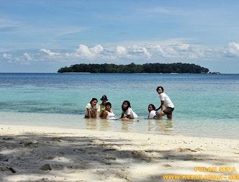 Pulau Sepa Resort Memiliki Pantai Yang Landai