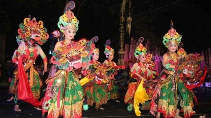 Kuntulan, Hadrah, dan Kundaran Ala Banyuwangi Promosikan Indonesia di Arab Saudi