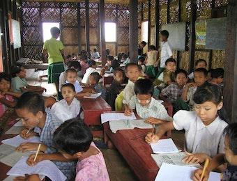 Sekolah Bantuan Indonesia Benih Perdamaian di Myanmar