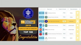 IPB Masuk Top 100 QS World University Ranking