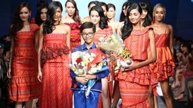 Rafi Ridwan, Rancang Busana America's Next Top Model Hingga Michelle Obama