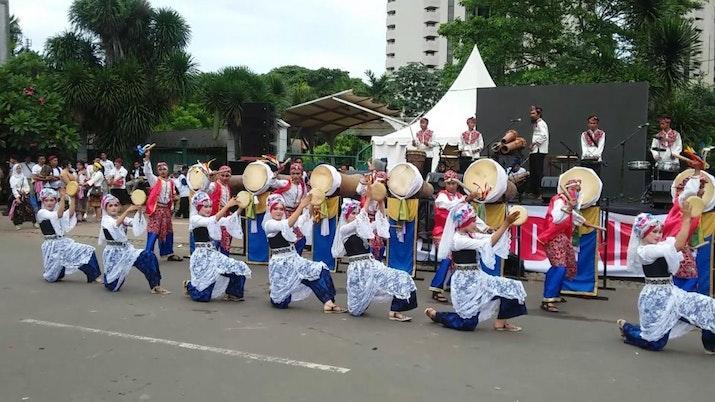 Tari Rampak Bedug Asal Provinsi Banten