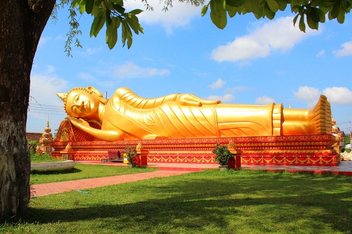 Laos Menyambut Wonderful Indonesia Center