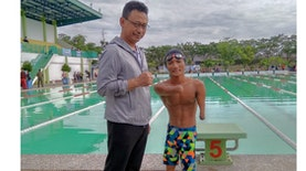 Simson Situmorang, Atlet Renang Tanpa Tangan dan Kaki Utuh