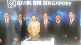 Resmikan Kantor Baru, BRI Ekspansi ke Singapura
