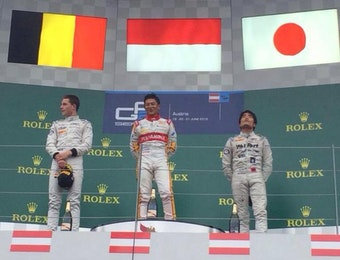 Rio Haryanto Juara di Austria