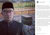 Ridwan Kamil dan Netizen Galang Dana Rp 1,4 Miliar untuk Rohingya Dalam 3 Hari