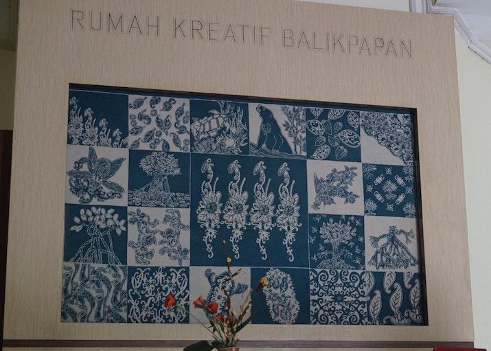 Motif-motif Batik Inovatif dari Rumah Kreatif Balikpapan