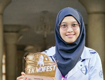 Fauni, Mahasiswa UGM Juara Robot Terbang Tingkat Dunia