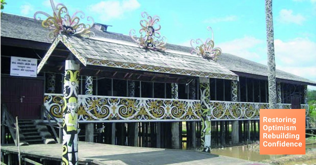 Rumah Adat Kalimantan Timur Gambaran Khas Budaya Suku Dayak