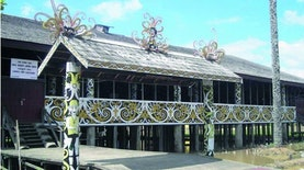 Rumah Adat Kalimantan Timur, Gambaran Khas Budaya Suku Dayak