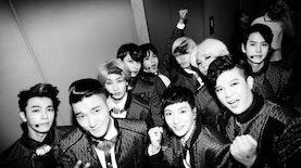 Saat Super Junior Membawakan Bunga Terakhir