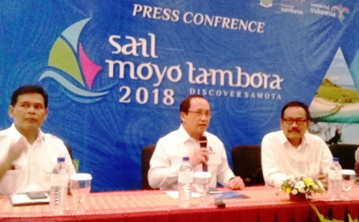 Promosikan Eksotisme Maritim Sumbawa, Sail Moyo Tambora akan Dihadiri Presiden Jokowi