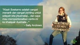 "Terinspirasi Sosok Soekarno, Mahasiswi Australia ini Ciptakan Lagu Rap Bertajuk ""Presiden Sukarno"""