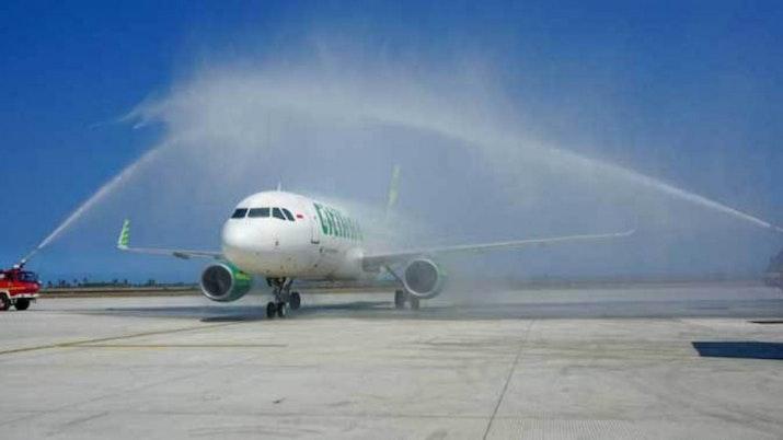 Penerbangan Ini Menandai Penerbangan Komersial Pertama di NYIA
