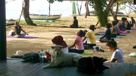 Bugar Jiwa Raga di Pantai Sanur