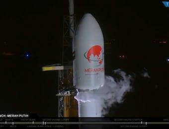 Satelit Merah Putih Milik Telkom Indonesia Berhasil Diluncurkan