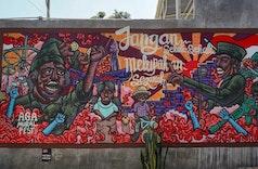 Festival Mural Ini Ajak Anak Muda Rayakan Kemerdekaan