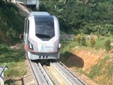 Inilah Prototipe LRT Buatan Para Insinyur Indonesia