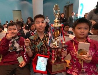 Penghargaan Internasional Atas Inovasi 4 Siswa SD Asal Surabaya