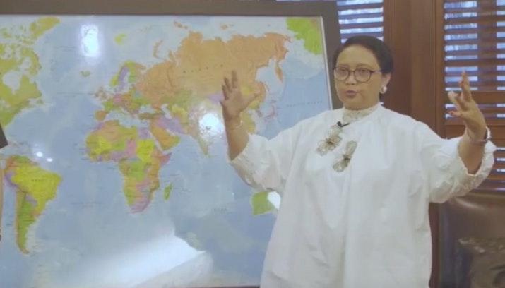 Geopolitik yang Memanas, Kayanya Aset Diplomasi Kita, Hingga Seperti Apa Indonesia 2045